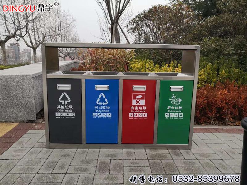 看北京|楼长讲垃圾分类 设置有害垃圾定时回收箱